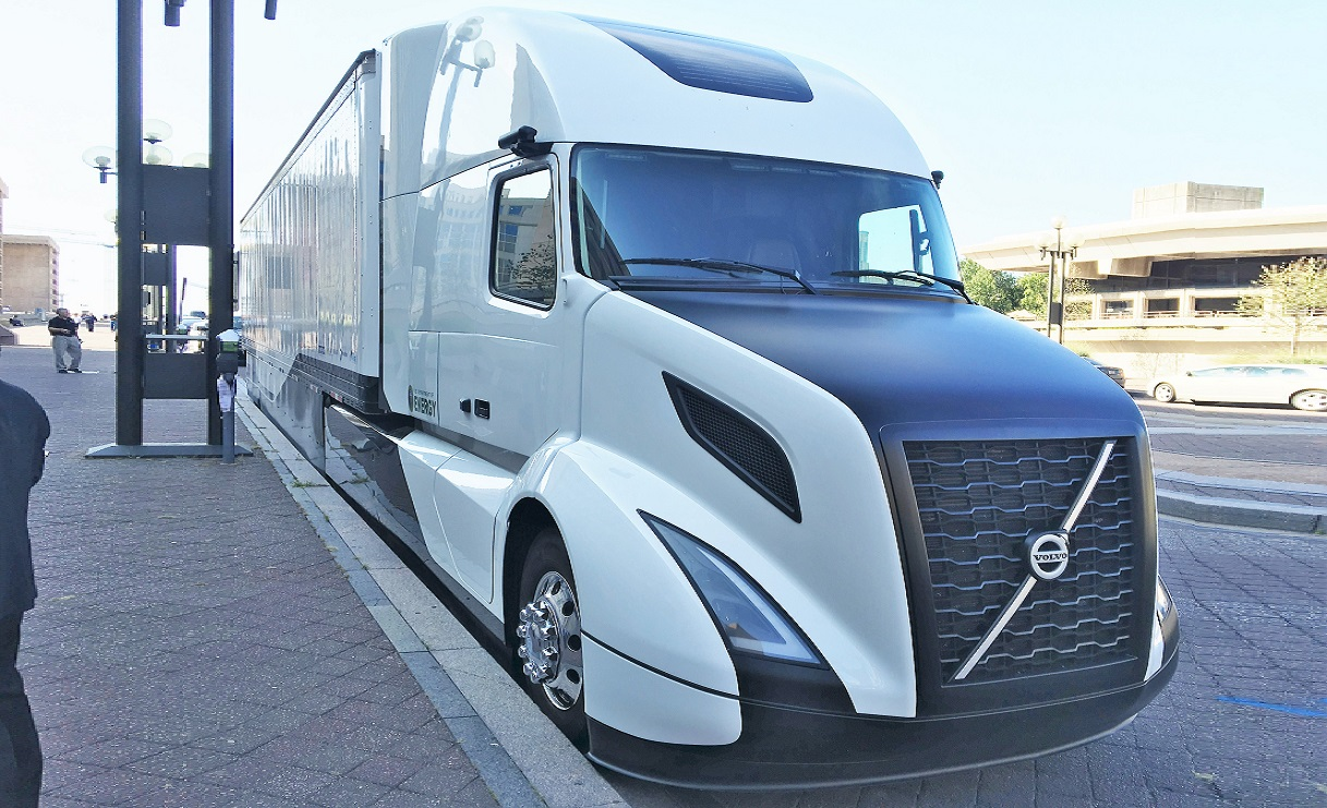 This is Volvo's 12 MPG Truck