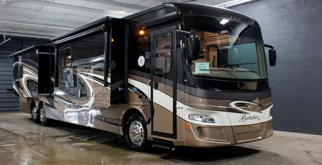 Forest River Berkshire XLT 43A 'Residential' in Nature
