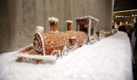 longest gingerbread train