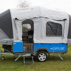This Travel Trailer Inflates with Air in 2 Minutes