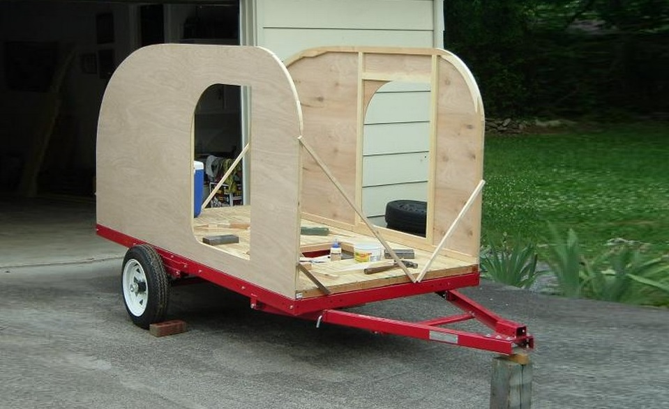 DIY Teardrop Camping Trailer – Next Woodworking Project