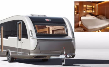 Compact Camper has a Drop-Down Queensized Bed