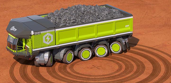 ETF mining trucks Don't Call it a Dump-Truck