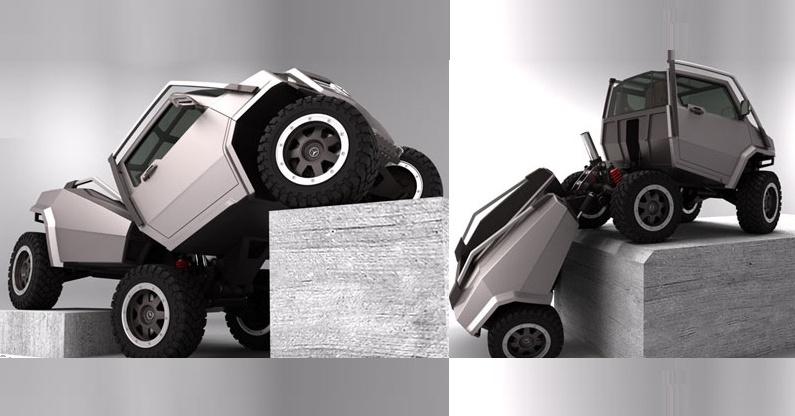 Hexawheel Performance Vehicle