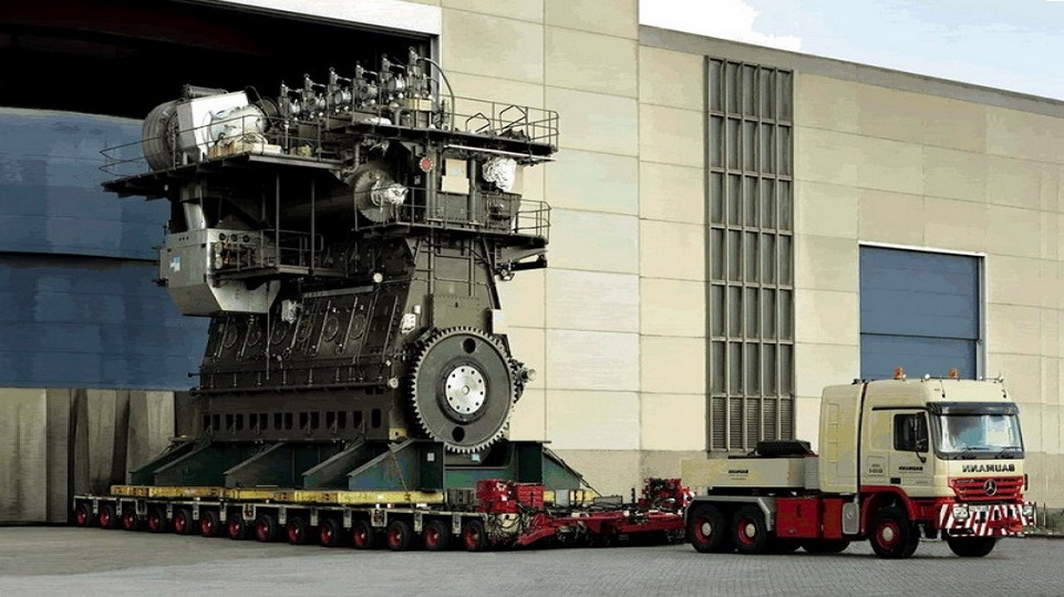 This is the world's largest engine