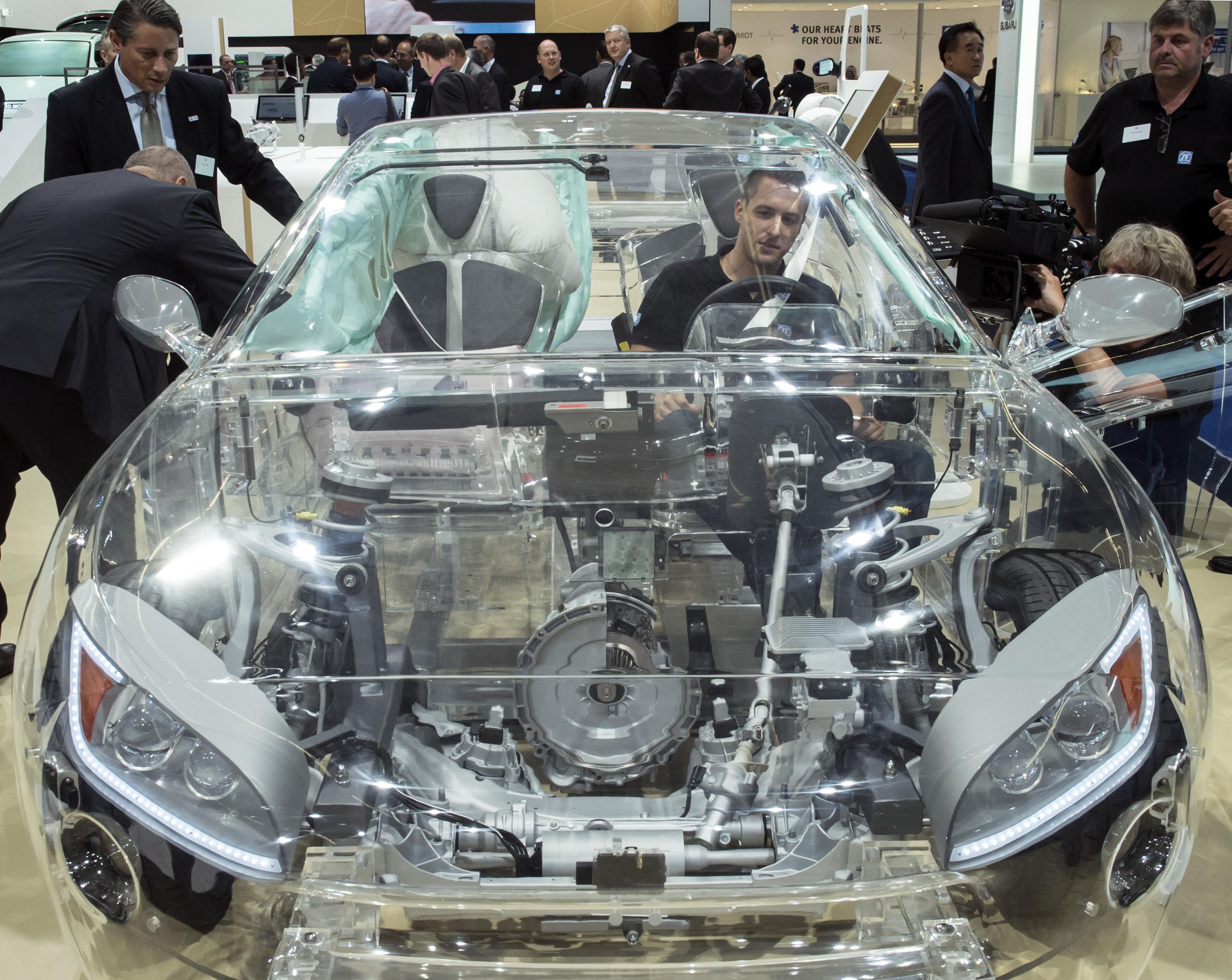 Transparent Cars