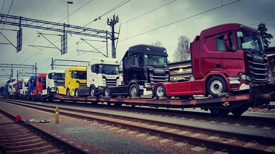 Custom Scania Trucks
