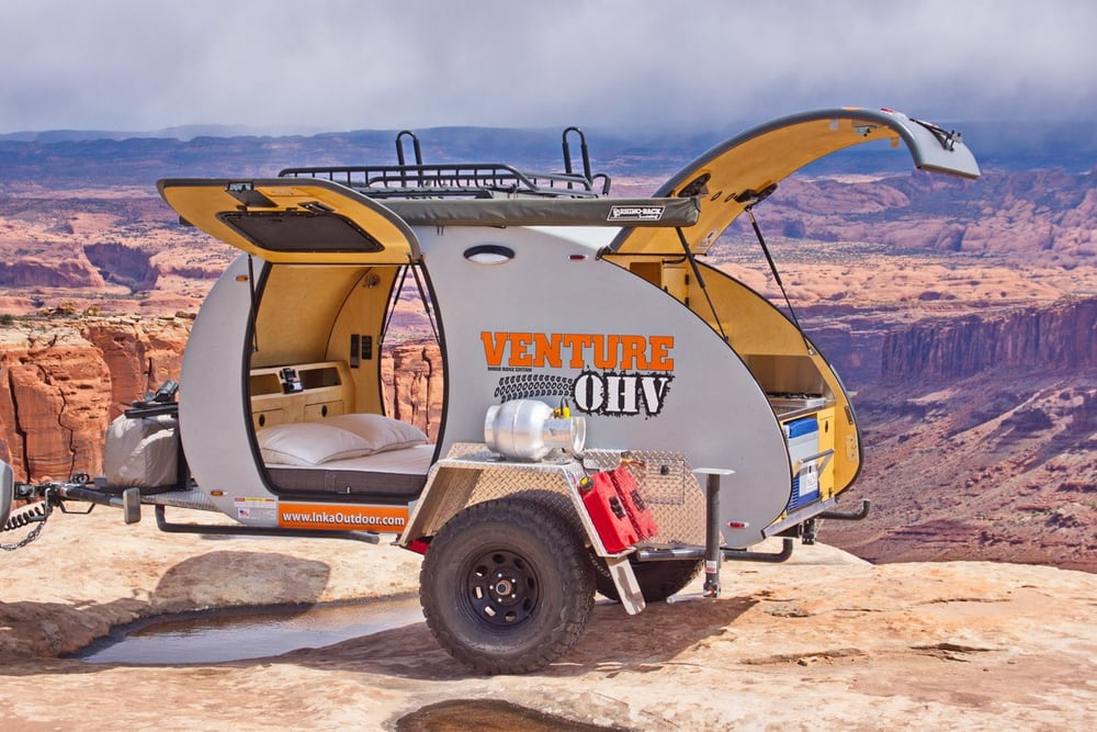 Rugged Compact Trailer for Go-Anywhere Camping