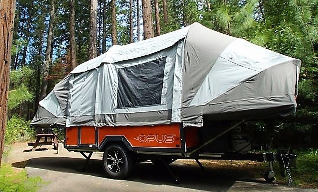 The Luxury Travel Trailer Pop-Up for Family Camping