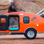 The Timberleaf Trailer is a Compact and Light Camping Option