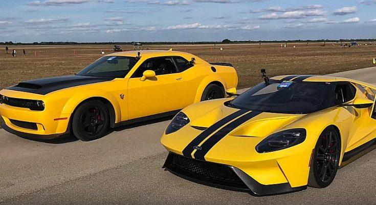 Dodge Demon VS Fort GT
