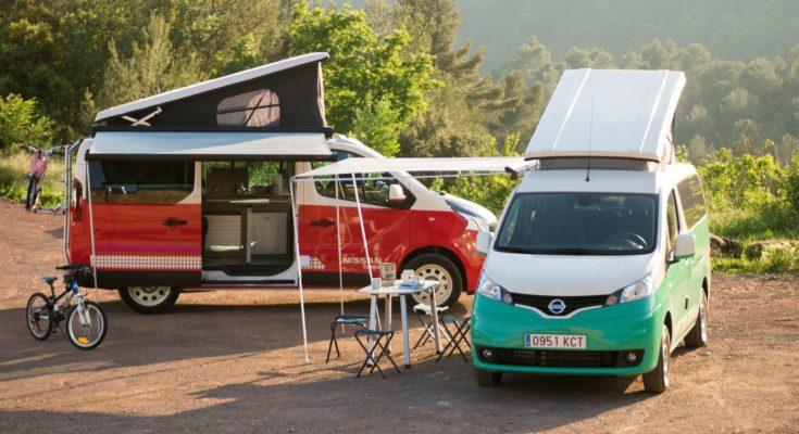 Nissan Electric Camper Van